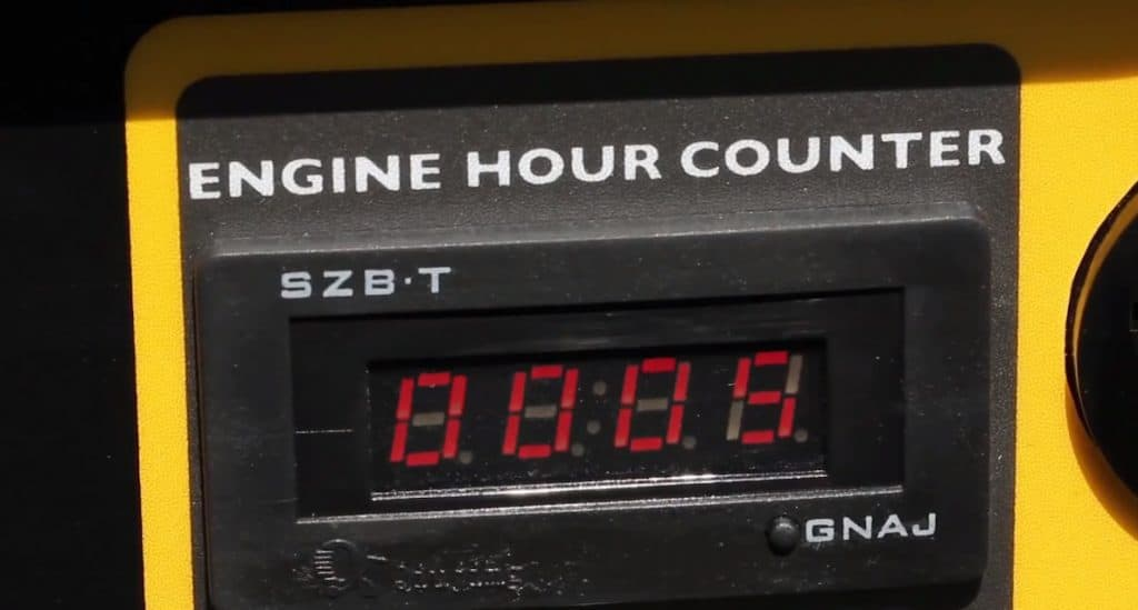 a engine hour monitor